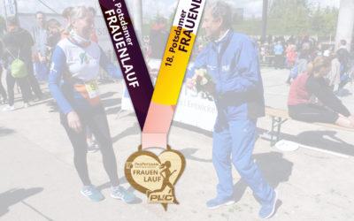 Neu: Finishermedaille beim 18. ProPotsdam Frauenlauf!